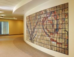 Mercy Medical Center ICU Tile Installation