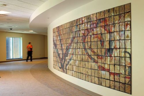 Mercy Medical Center Tile Installation